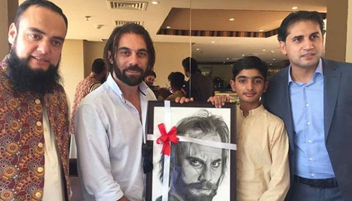 11سالہ پاکستانی فنکار کی تُر ک اداکار سے ملاقات