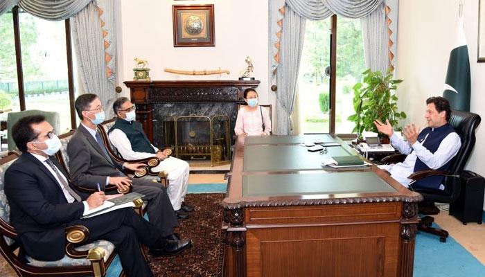 وزیراعظم سے چینی سفیر کی الوداعی ملاقات