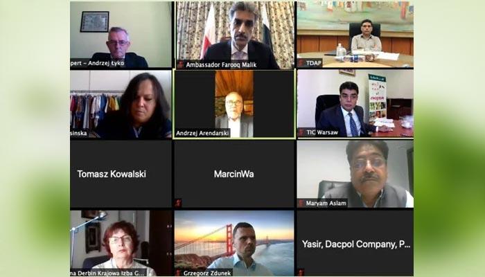 پولینڈ: سفیر پاکستان کی پولش تجارتی کمپنیوں کو پاکستان میں سرمایہ کاری کی دعوت