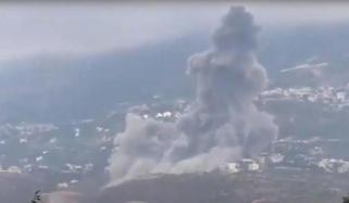 جنوبی لبنان میں زور دار دھماکا، متعدد عمارتیں تباہ
