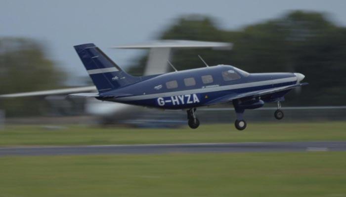برطانیہ: ہائیڈروجن سے چلنے والے پہلے کمرشیل طیارے کی کامیاب آزمائشی اڑان