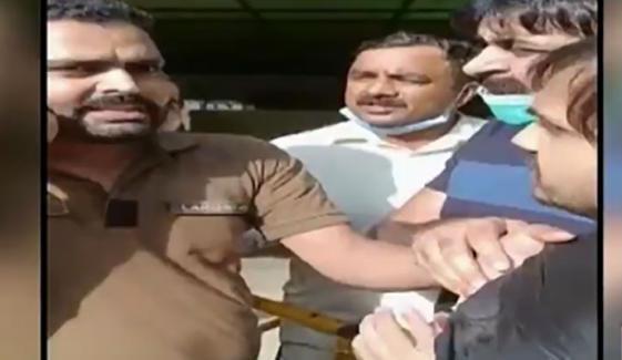 ڈاکٹر سے بدسلوکی، دوسرا کانسٹیبل بھی گرفتار
