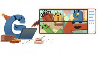 ہیپی برتھ ڈے گوگل