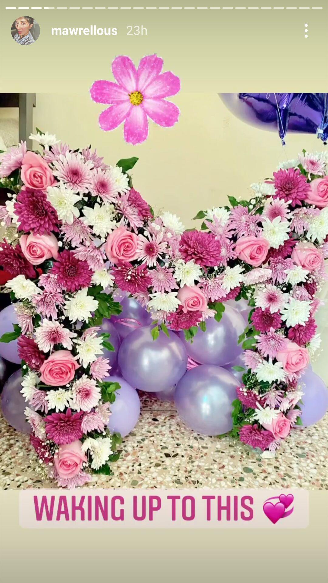 ماورا کی سالگرہ کی خوبصورت تصاویر وائرل