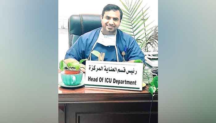 کورونا وائرس کے دوران بہترین کارکردگی پر پاکستانی ڈاکٹر کیلئے اعزاز
