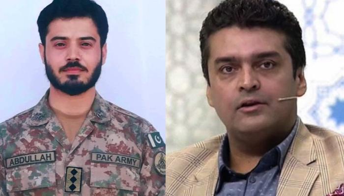 فخر عالم کا کیپٹن عبداللّہ کو خراج عقیدت