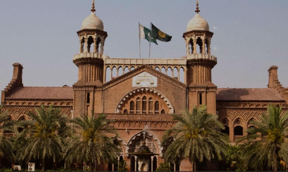 چیف جسٹس لاہور ہائیکورٹ ڈی آئی جی لیگل پر برہم