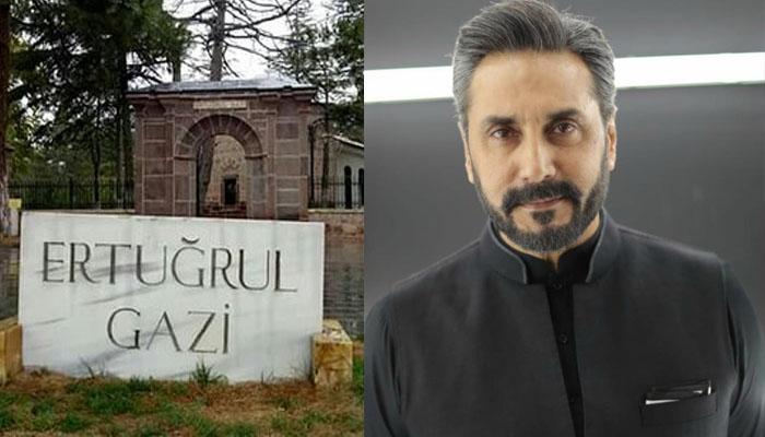 عدنان صدیقی کی 'ارطغرل غازی' کے مقبرے پر حاضری