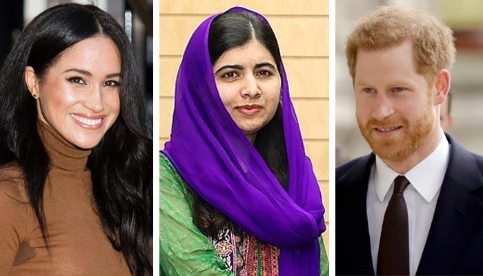 ہیری اور میگھن، ملالہ کے ساتھ گرلز ایجوکیشن کے عالمی دن پر ورچوئل چٹ میں شرکت کریینگے