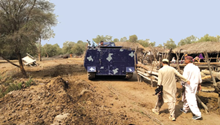 کچے کے جنگلات میں کامیاب پولیس آپریشن
