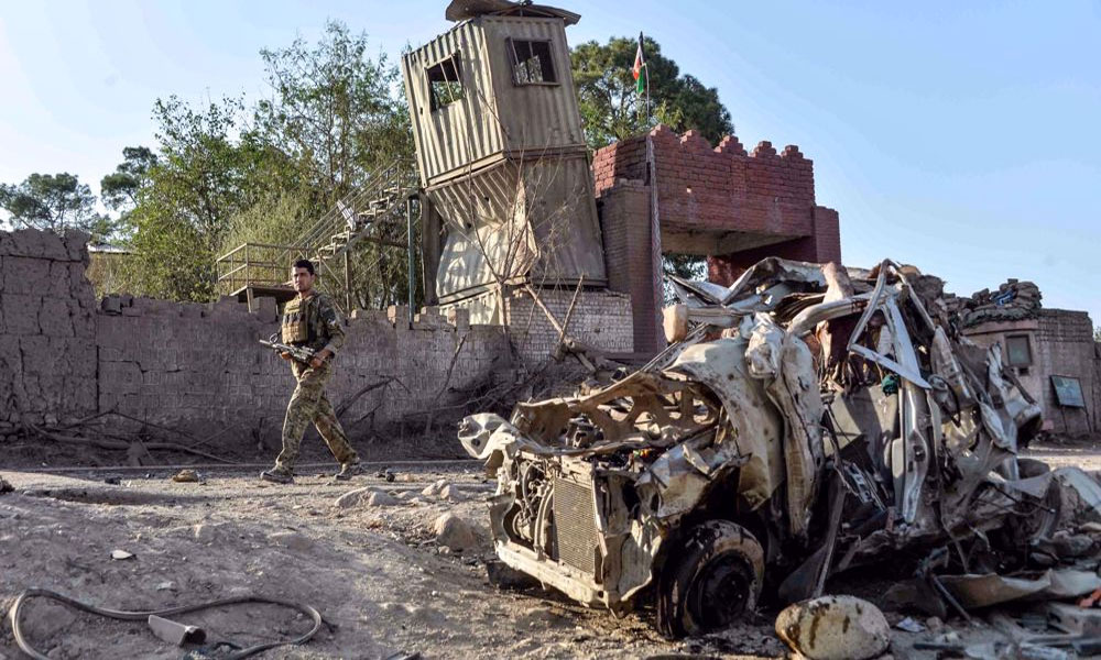 افغانستان: صوبہ سرپل میں دھماکا، 10 فوجی، 3 شہری جاں بحق