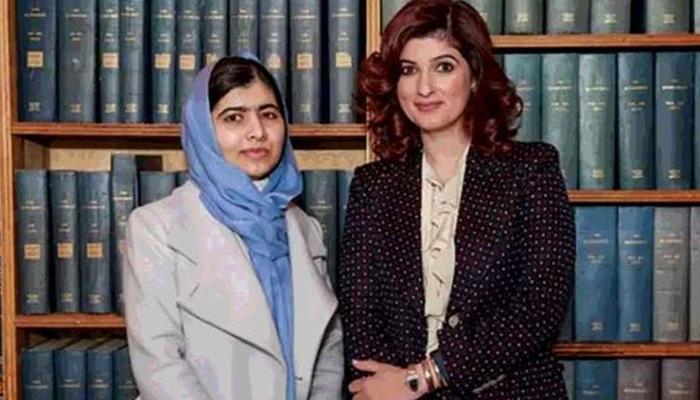 ملالہ یوسفزئی کی کہانی نے آبدیدہ کردیا تھا: ٹوئنکل کھنا