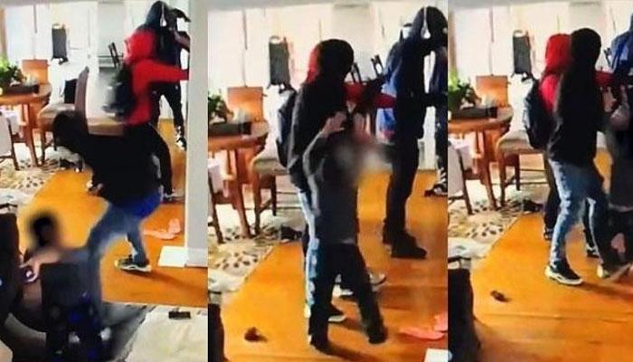 ماں کو بچانے کیلئے 5 سالہ بچہ مسلح افراد پر ٹوٹ پڑا