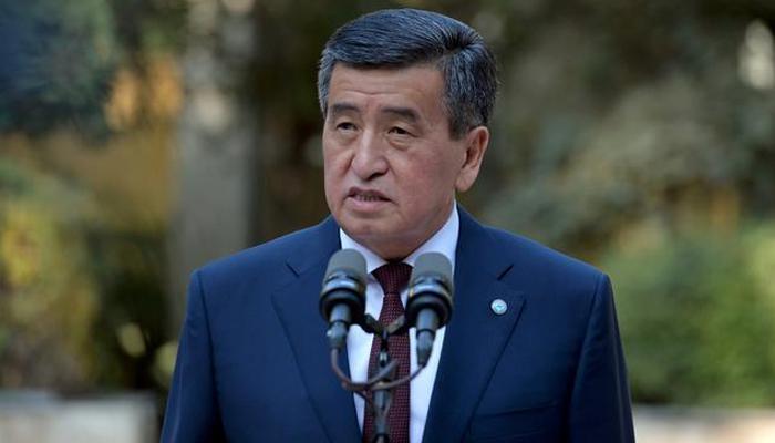 کرغزستان کے صدر نے استعفیٰ دینے کا اعلان کردیا