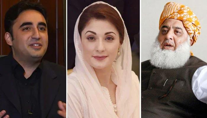فضل الرحمان، مریم لاہور، بلاول لالہ موسیٰ سے جلسہ گاہ پہنچیں گے