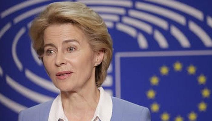 یورپین کمیشن کی سربراہ ارسلا واندر لین قرنطینہ میں چلی گئیں