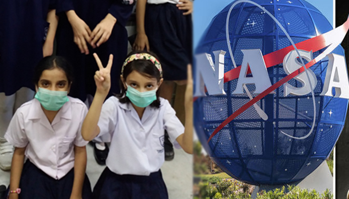 عالمی خلابازوں نے کراچی کے بچوں کی مشکل حل کردی