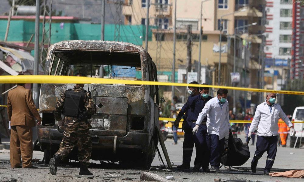 افغان صوبے غور میں کار بم دھماکا،12 شہری جاں بحق