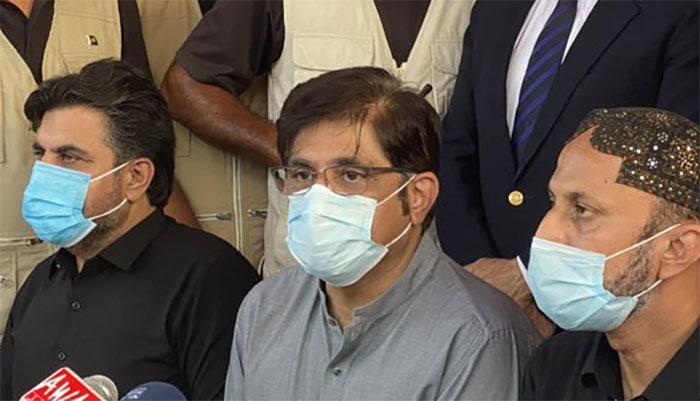 عمران خان نے خود تسلم کیا اب اصلی وزیر اعظم آئے گا، وزیر اعلیٰ سندھ