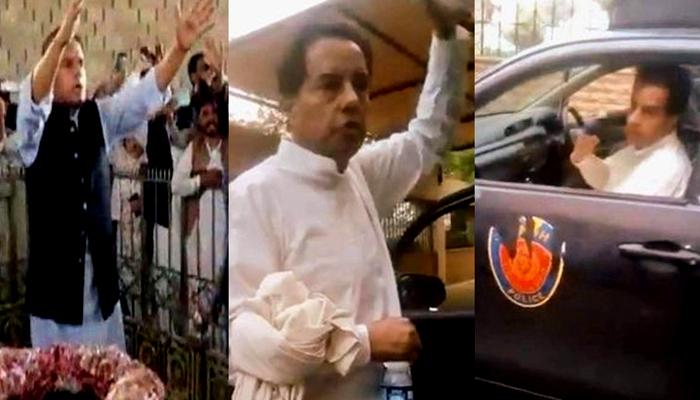 کیپٹن (ر) صفدر کراچی سے گرفتار