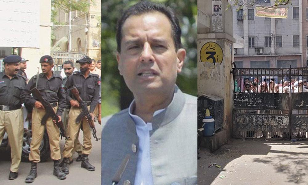 کراچی: صفدر کی متوقع پیشی، سٹی کورٹ میں اضافی پولیس تعینات