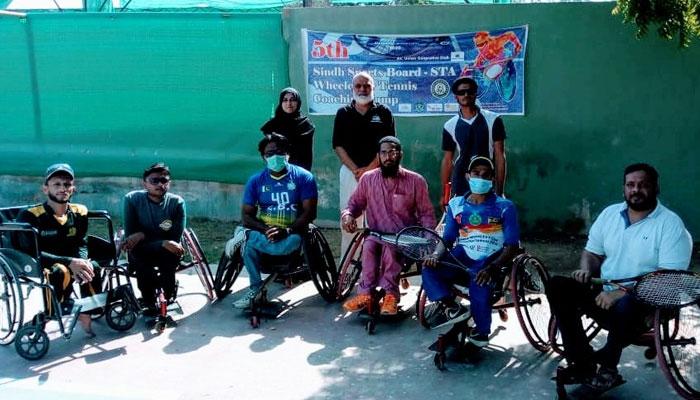 ملک میں وہیل چیئر ٹینس کو فروغ دینے کیلئے اقدامات، کیمپ کا آغاز