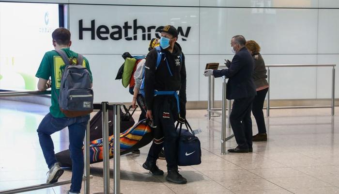 لندن ایئرپورٹ پرمسافروں کیلئے کورونا ٹیسٹ کی سہولت