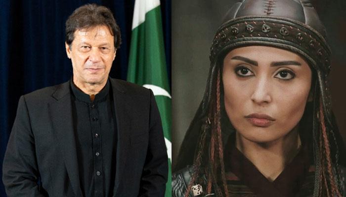 ارطغرل غازی کی اداکارہ عمران خان کی شکرگزار کیوں؟