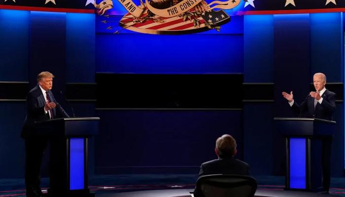 امریکی صدارتی مباحثےمیں مائیک بند رکھنے کا فیصلہ