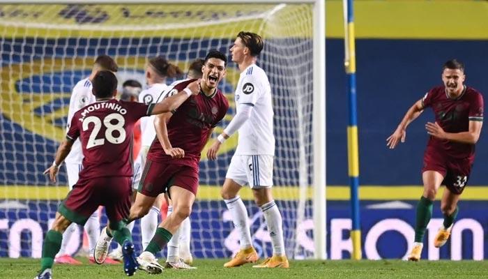 انگلش پریمیئر لیگ: وولوز نے لیڈز یونائیٹڈ کو ایک۔صفر سے ہرادیا