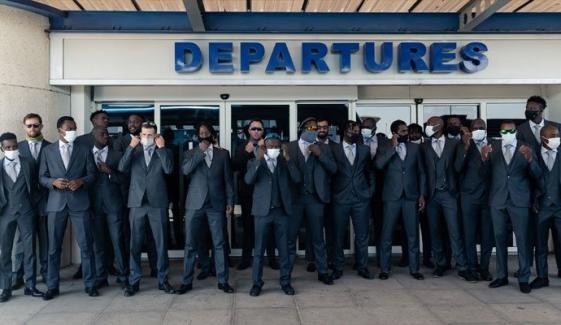 زمبابوے کرکٹ ٹیم اسلام آباد پہنچ گئی