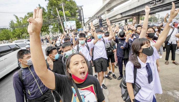 تھائی لینڈ میں ہنگامی حالات