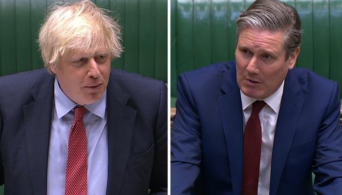 اپوزیشن چاہتی ہے پورے انگلینڈ میں لاک ڈاؤن لگادیا جائے، برطانوی وزیراعظم