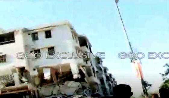 کراچی، مسکن چورنگی کے قریب دھماکا