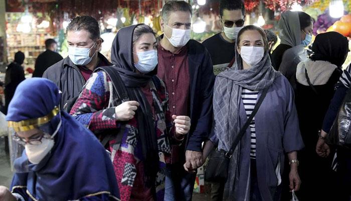 ایران میں کورونا کے یومیہ کیسز کا نیا ریکارڈ بن گیا