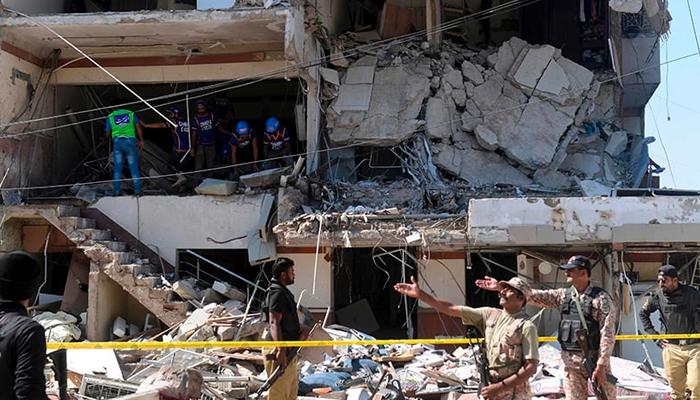 مسکن چورنگی دھماکا، سی سی ٹی وی فوٹیج سامنے آگئی