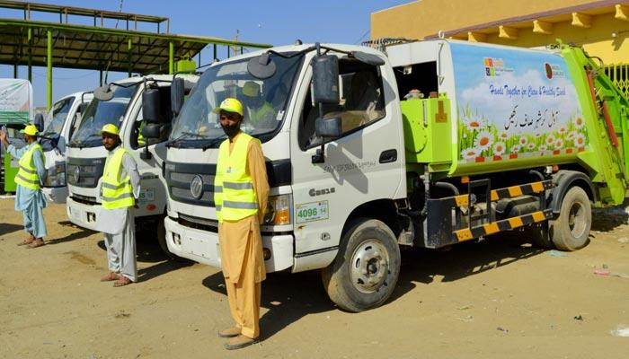 صوبائی رابطہ اور عملدرآمد کمیٹی کے زیر انتظام کلین کراچی مہم کا افتتاح