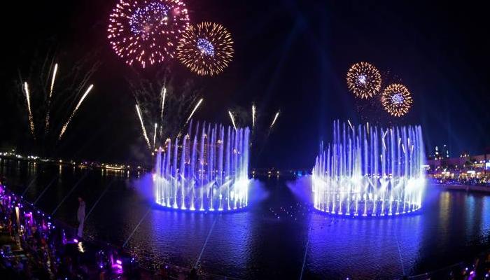 دنیا کے سب سے بڑے فوارہ کا افتتاح
