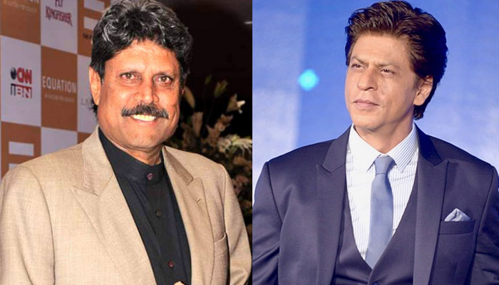 شاہ رخ خان لیجنڈری کرکٹر کپول دیو کی جلد صحتیابی کیلئے دُعاگو