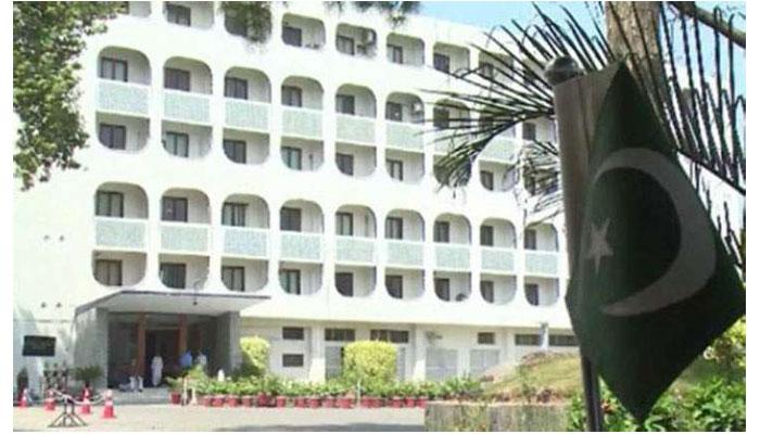 پاکستان کی کابل میں دہشت گردوں کے حملے کی مذمت