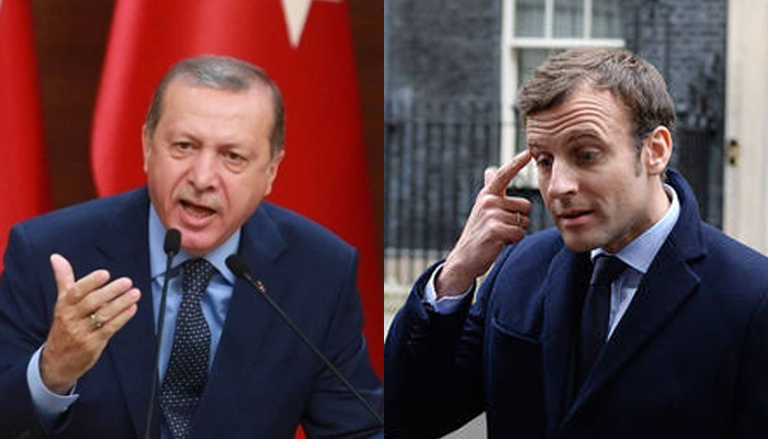 فرانسیسی صدر کی اسلام مخالف پالیسی، اردوان برہم