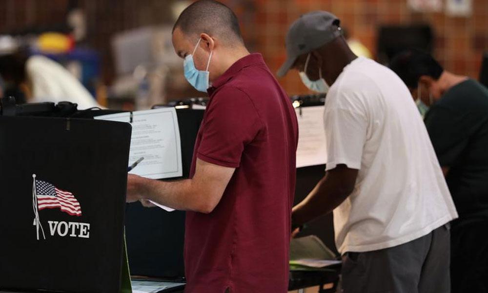 امریکا انتخابات: ارلی ووٹنگ میں عوام کی دلچسپی