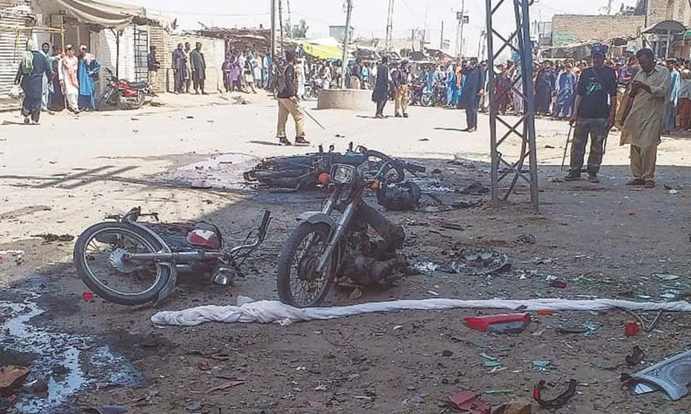 کوئٹہ، ہزار گنجی میں دھماکا، ہلاکتوں کا خدشہ