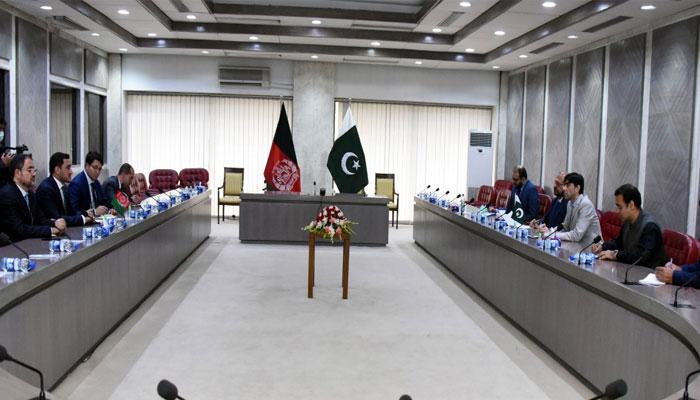 ڈاکٹر معید یوسف سے افغان پارلیمانی وفد کی ملاقات