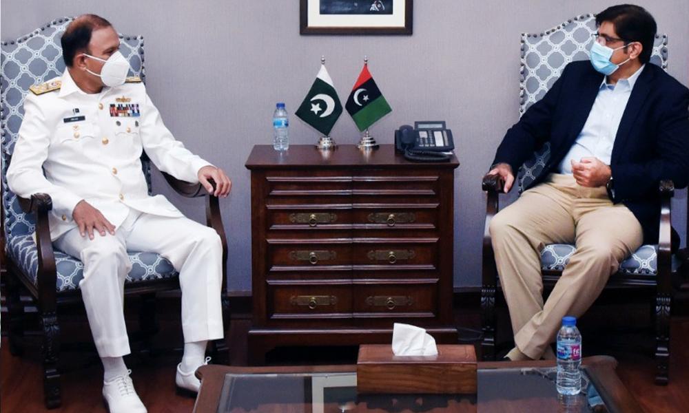 مراد علی شاہ کی نیول چیف کو اہم عہدہ سنبھالنے پر مبارکباد