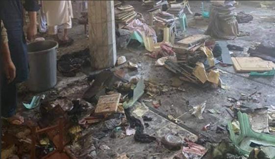 پشاور: مدرسے میں دھماکا، 7 افراد شہید
