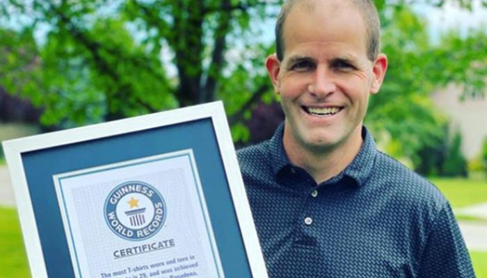 امریکی شہری نے 150سے زائد اعزازات اپنے نام کرلیے