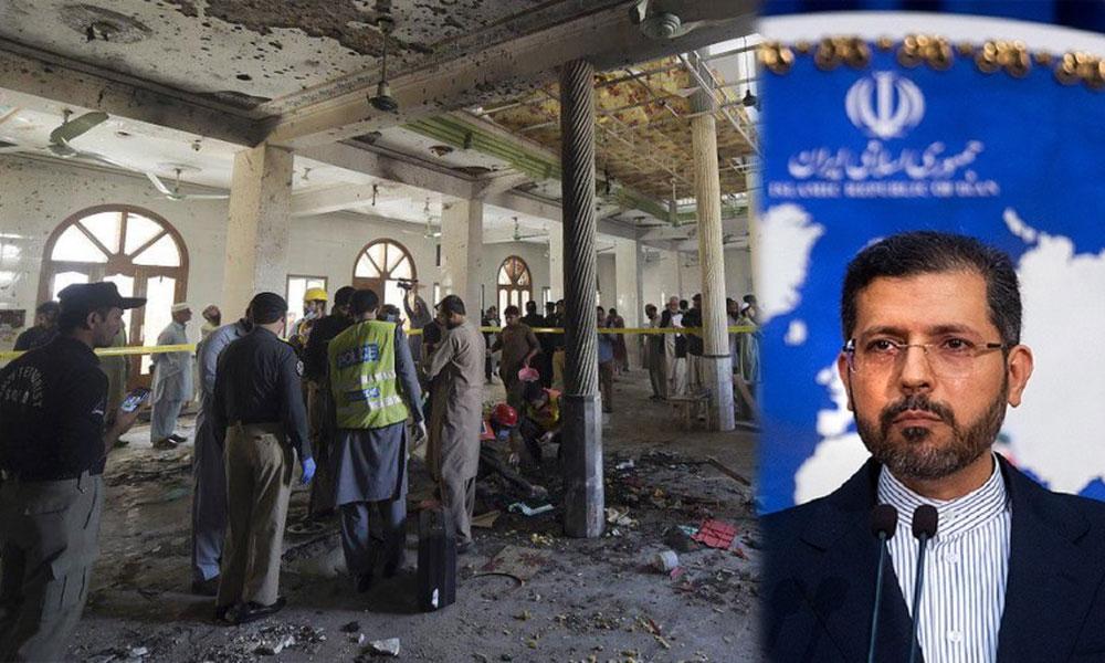 ایران کی پشاور کے مدرسے میں دھماکے کی مذمت