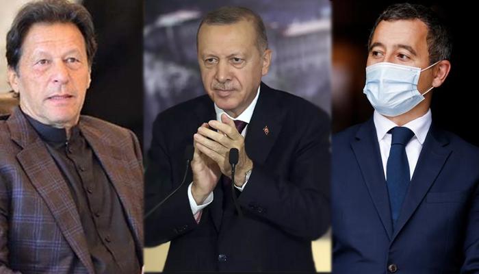 پاکستان، ترکی ہمارے اندرونی معاملات میں دخل دینے سے باز رہیں، فرانسیسی وزیر داخلہ