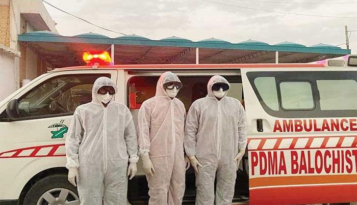 بلوچستان میں کورونا وائرس کے نئے کیسز میں کمی کا رحجان برقرار
